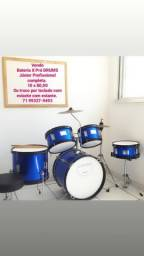 Bateria X Pró drums Júnior Profissional