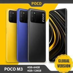 Xiaomi POCO M3 versão Global. Bateria de 6000 mah.