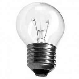 Lâmpada Bolinha Clara 15 Watts 127 Volts  08 Unidades