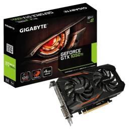 Placa de Vídeo - GTX 1050Ti OC 4Gb Gigabyte - vendo ou troco por 8Gb em excelente estado