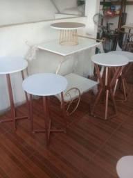 Mesas para decoração de festa