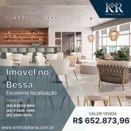 Título do anúncio: Apartamento com 2 dormitórios à venda, 59 m² por R$ 652.873,96 - Bessa - João Pessoa/PB