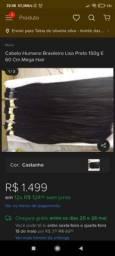 Mega hair 160 gramas 65cmm parcelo no cartão