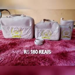 Kit de mala para criança ideal para saida maternidade