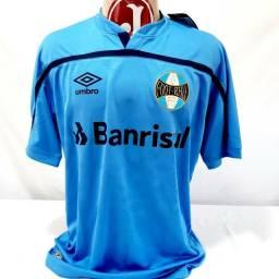 Camisa Grêmio Umbro Barrisul 2020 Terceiro uniforme Azul Celeste