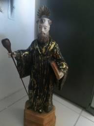 São Bento 70cm antiguidade Santo
