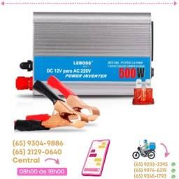 Inversor Energia 500w Transformador Conversor 12v Para 220v