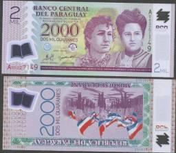 Nota 2000 Guarani Plastica de 2008