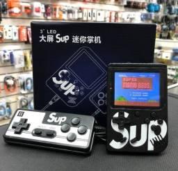 Sup Game Portátil Com Controle 400 Jogos Super Console Preto