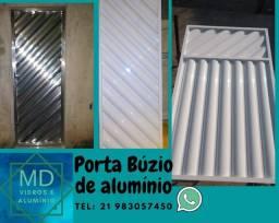 Porta de alumínio Búzio