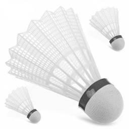 Peteca Para Badminton Kit Com 3 Pecas Na Cartela PT-33
