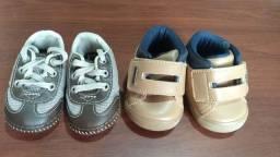 Sapato bebê tamanho 3
