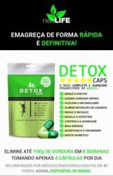Detox Caps Elimine até 15kg de gordura em 8 semanas