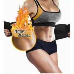 Título do anúncio: Cinta Térmica Abdominal Modeladora Ajustável Cintura Fitness