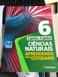 Livro NOVO - Ciências Naturais 6 ano