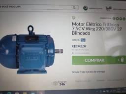 Motor para polimento/ politriz