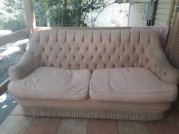 Vendo sofá rústico/vintage barbada 100,00