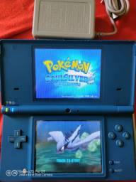 Título do anúncio: Nintendo Dsi Azul +micro Sd 4gb Twilight Menu E 50 Jogos