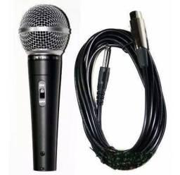 Título do anúncio: microfone m58 com fio