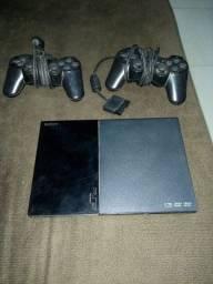 PlayStation 2 destravado com defeito nos controles
