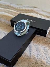 Smartwatch Mibro Air Prata com verde