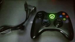 Controle Wireless Original p/ Xbox 360 - Usado mas em Ótimo estado!