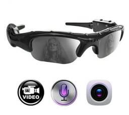 Óculos de sol com câmera escondida para passei de carro e moto