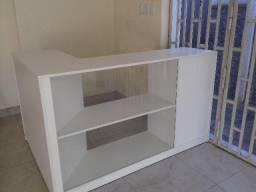Balcão caixa para loja / recepção