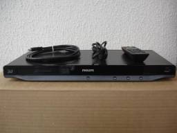 Blu Ray Dvd Player Philips 2d / 3d Bdp 5200
