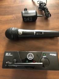 Microfone sem fio AKG HT 40 Mini Pró