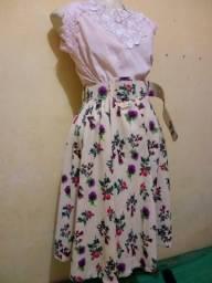 Vestido de festa e roupas variadas