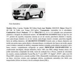 Toyota Hilux CD SR 2.8 Diesel 4x4 Aut 18/19 0km na promoção! - 2019