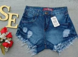 Promoção Shorts jeans Tam 34 e 36