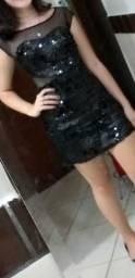 Vestido de festa curto P