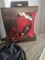 Headset Acer predator gaming