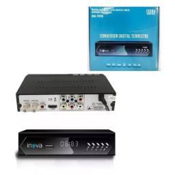 Conversor p/tv digital em tv de tubo lcd led plasma etc nv.na cx. aceito cartão