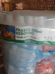Garrafinha descartável para sucos 450 ml