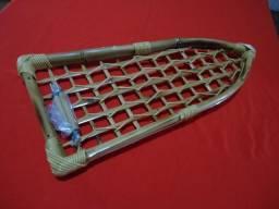 Porta treco de bambú para kombi cliper