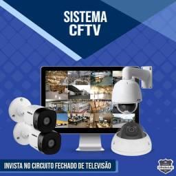 Linha completa de CFTV, Alarmes, Câmeras Bullet, Dome, Speed Dome