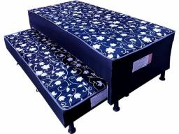 cama box com auxiliar nova