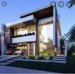 Vendo Sobrado 3 suítes em construção 322m² no Portal do Sol Green!!