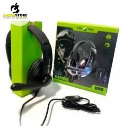 Fone de ouvido com microfone gamer headset