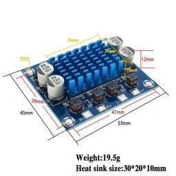 Placa amplificadora xh-a232 30w +30w nova