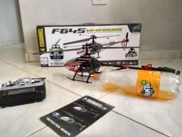 Helicóptero F645 controle-Apucarana
