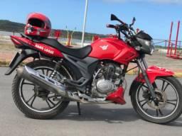 Vendo moto Dafra riva, 150cc