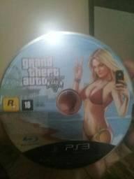 GTA 5 - 3 GOD OF WAR em um CD - GRAN TURISMO 5 - PES 2011 E 2013. todos de PS3