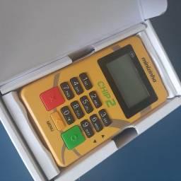 Máquina de Cartão com Internet Grátis