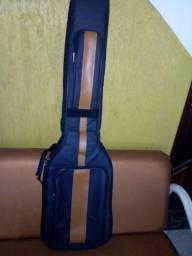 Bag luxo em courino pra contra baixo