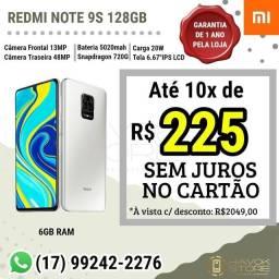 SMARTPHONE REDMI NOTE 9S (6gb RAM / 128gb ROM) pronta entrega