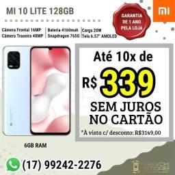 Mi 10 Lite ( Linha Super Premium ) 128gb ROM - pronta entrega